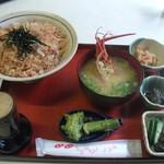 一休茶屋 - わさび丼 700円