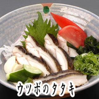 かつお、うつぼ、鯨等々、土佐の『タタキ料理』をご堪能ください