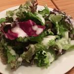 洋食 ノブ - 本日の夜ランチのサラダ