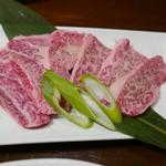 肉もん - 上カルビ(1200円)