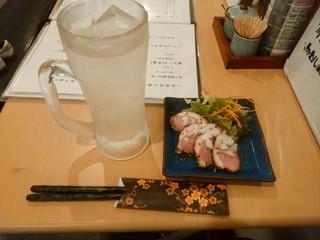 田じま - 【2016.6.10(金)】合鴨ロースト+グレープフルーツサワー