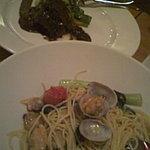 ソールエフレール - 菜の花とアサリのパスタ¥990