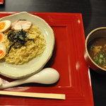 花紋 - つけ麺750円+煮玉子100円トッピング