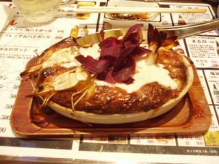 居・食・酒 ちんまーやー - 豆富エビふわチーズのオーブン焼 \580-