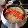 船頭の台所 - 料理写真:伊勢海老めし 炊き上がり時