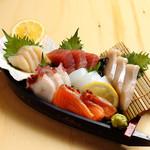 恵美須商店 - ほぼほぼ原価の舟盛りは安い!