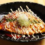 恵美須商店 - 大阪名物、人気のとん平焼き