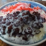 甘いっ子 - いちごミルク金時氷