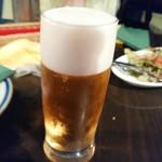 ダバ インディア - やはりビール