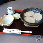 蕎谷戸 - 料理写真:「蕎麦がき」 875円