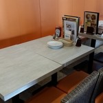 Cinnamon's Restaurant - 私のテーブル