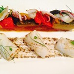 マルドルメ - イカの炙りとラタトゥイユ