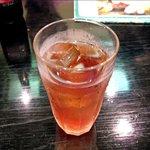 加賀屋 - ウーロン茶
