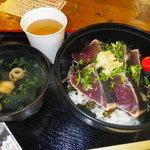 本池澤 - 鰹タタキ丼