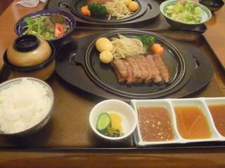 やきにく鈴 - 平戸和牛サーロインステーキランチ