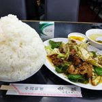 中国料理 登龍 - 回鍋肉定食(大盛)