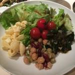 銀座グランドホテル - 【2016年04月】サラダから頂きます(^^♪。