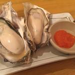 かき小屋鳥羽水産 - 牡蠣のガンガン焼き