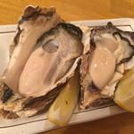かき小屋鳥羽水産 - 生牡蠣