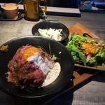 52115950 - ローストビーフ丼プレートランチ