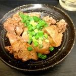 浜鶏 - 鶏レバーの甘辛煮210円(2016/06)