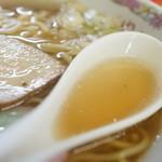 ゆりや食堂 - スープ