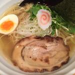 52117541 - 七福ラーメン弍@810円 平打麺選択。