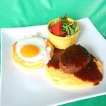 グランブルー - 料理写真:ロコモコパンケーキ(モーニング)