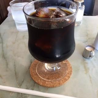 恵比寿屋喫茶店 - アイスコーヒー。 美味し。