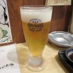 肝どん - 発泡酒(生ビールと称されてますが、、)