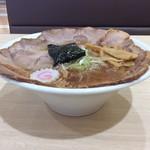 青山製麺 - 横から