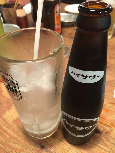新橋やきとん - ハイサワーハイッピー320円