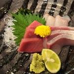 菜々海 - 刺身三種盛