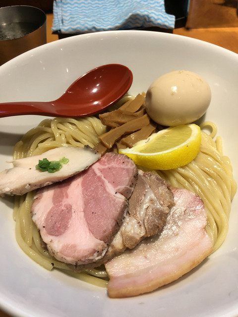 麺屋 翔 品川店 - 特製鶏白湯つけめん