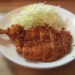 勝烈庵 - 若鶏フライアップ