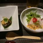 四季茶房八夢 - 5000円コース・前菜2種