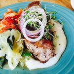 ビストロアンドカフェ タイム - お肉料理 豚肩ロース