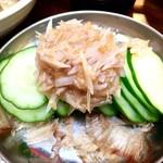 大衆串揚酒場 足立屋 - 『梅水晶』様(400円)これ初めて東京で食べた時感動した!