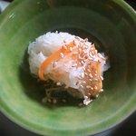 そば処 ほおずき - ほおずき膳の小鉢(大根のナマス)