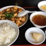蓮 - 料理写真:ランチ麻婆豆腐定食780円