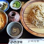 お食事処きたむら - 料理写真:もりそば820円とミニ玉子丼310円(税込)