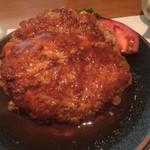 洋食の店 もなみ - [b:ハンバーグセット](¥1250)