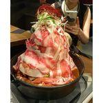 52135399 - 肉鍋。赤味噌