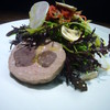Resutorankawasaki - 料理写真:前菜(富士宮芝川の畑のサラダと鹿肉コンフィと豚のテリーヌ)