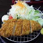 とんかつ屋優 - 料理写真:ロースかつ定食950円