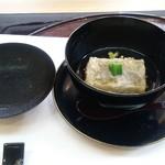 日本料理 椿 - お餅の様な一品