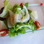 ジャスミンガーデン - ふかひれのお刺身サラダ仕立て