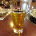 新世界 もつ鍋屋 - 氷結ビール(乾杯後ですいません)