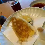 52140014 - キス・ズッキーニ・芋の天ぷら