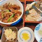 そば処 福住 - 料理写真:そばジンギスカン丼 1,200円
